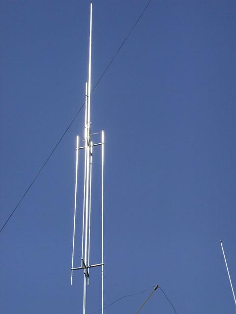 amateur radio gap titan top half of titan